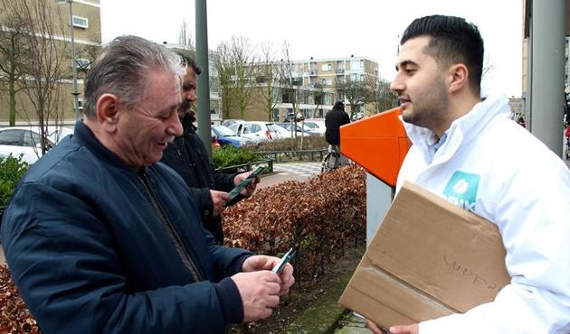 'Göçmen partisi' DENK, Hollanda'nın en genç tabanına sahip