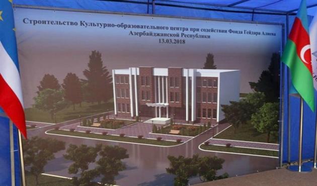 Haydar Aliyev Vakfı'ndan, Gagavuz Türklerine hizmet