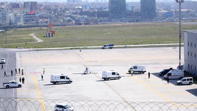 İran'daki jet kazasında ölen 10 kişinin cenazesi Türkiye'de