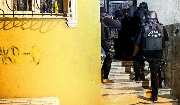 İstanbul'da 8 ilçede PKK'ya yönelik operasyon