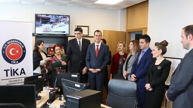 TİKA'dan Kosova Radyosuna destek