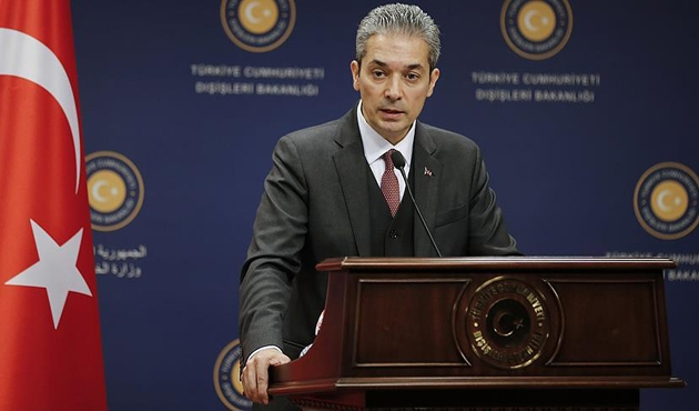 Dışişleri'nden 'ABD Suriye'yi vurursa Türkiye destekler mi?' sorusuna cevap