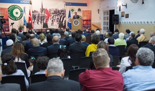 Ermeni tehdidiyle iptal edilen sempozyum, İslam Merkezi desteğiyle yapıldı