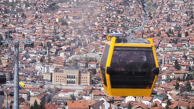 Saraybosna'da Sırpların yok ettiği teleferik yeniden açılıyor