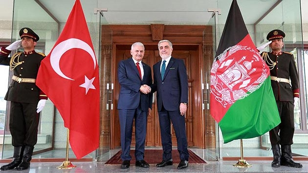 Başbakan Yıldırım, Afganistan İcra Heyeti Başkanı ile görüştü