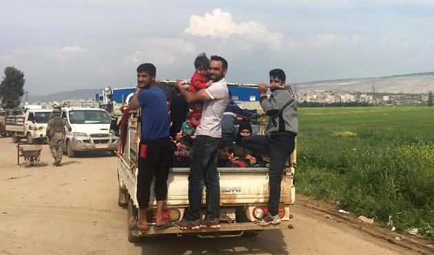 Afrin'in nüfus yapısı da TSK ve ÖSO güvencesinde