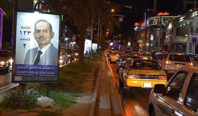 Irak'ta seçim propagandası resmen başladı