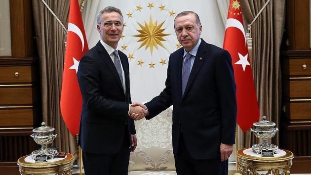 Erdoğan, Stoltenberg ile Türkiye-NATO ilişkilerini ve Suriye'yi görüştü