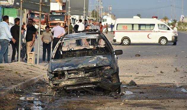 Türkmenlerin konvoyuna bombalı saldırıda 1 ölü, 11 yaralı