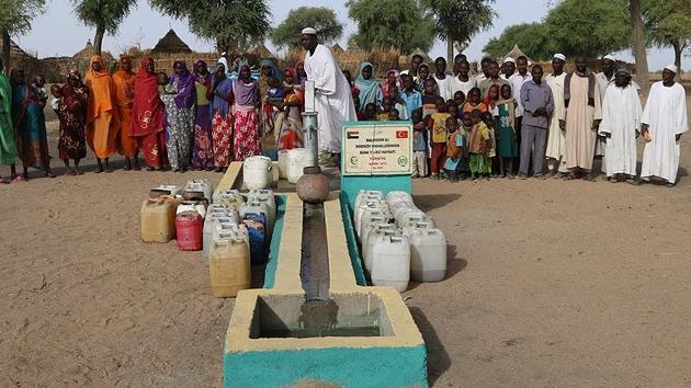 İHH, Sudan'da 30 su kuyusu daha açtı