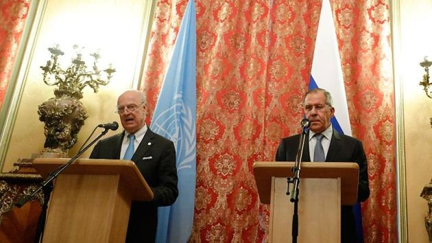 Lavrov BM Suriye Temsilcisi Mistura ile görüştü
