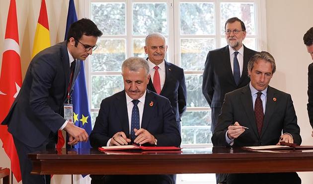 Türkiye ile İspanya arasında iki anlaşma