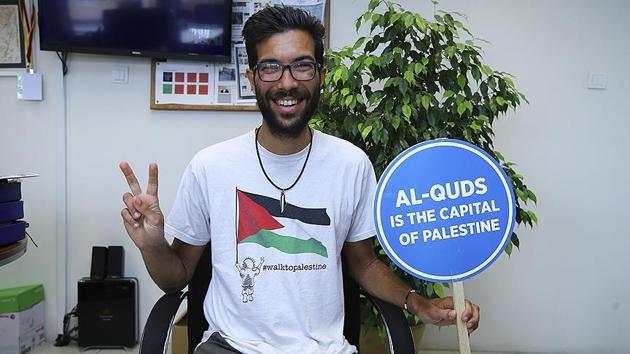Filistin için dünyayı gezen Ladraa'nın bir sonraki durağı Mısır