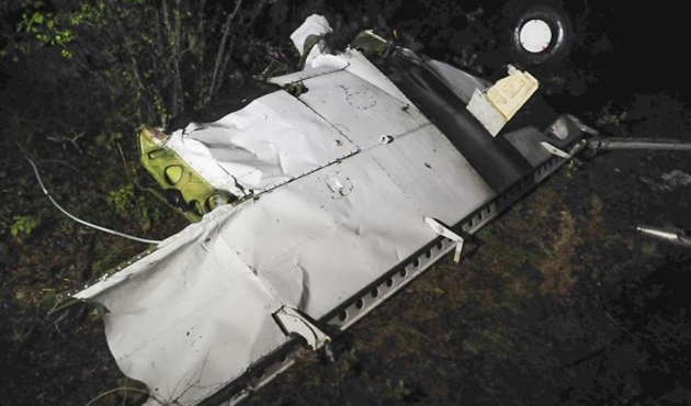 Kolombiya'da emniyet güçlerine ait uçak düştü: 4 ölü
