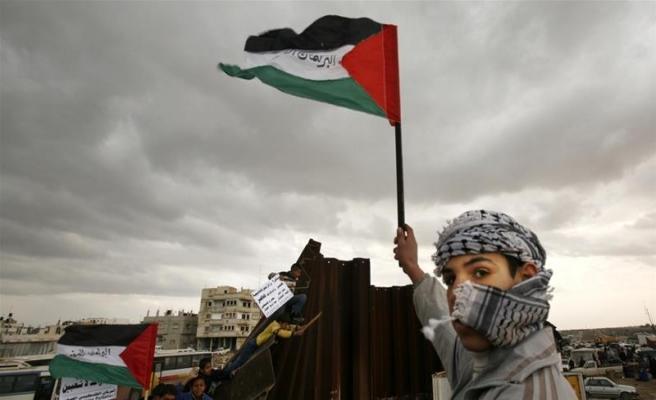 Faslılar Kudüs için sokakta