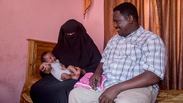 Sudan'lı aile bebeklerine 'Erdoğan' adını verdi