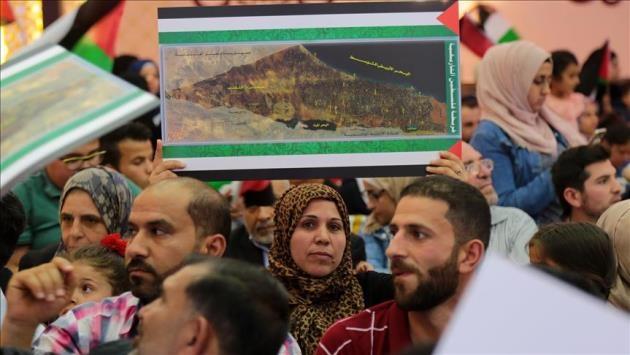 Türkiye'deki Filistinlilerden 'Büyük Dönüş Yürüyüşü'ne destek
