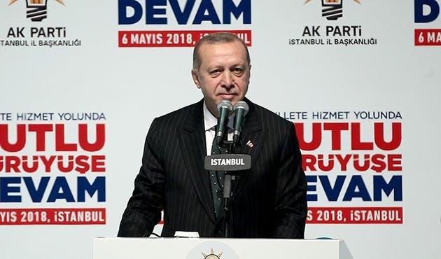 Cumhurbaşkanı Erdoğan, AK Parti'nin seçim manifestosunu açıkladı | VİDEO