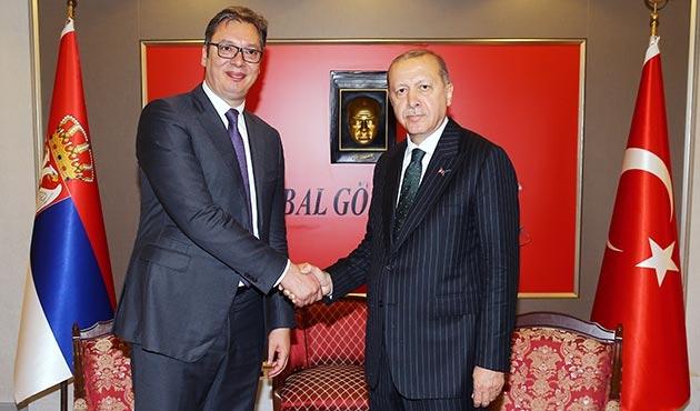 Sırbistan Cumhurbaşkanı Vucic, Türkiye'de