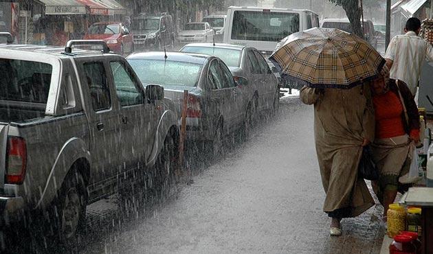 Meteoroloji'den Doğu Anadolu'da kuvvetli yağış uyarısı
