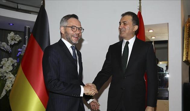 AB Bakanı Çelik ile Roth Ankara'da bir araya geldi