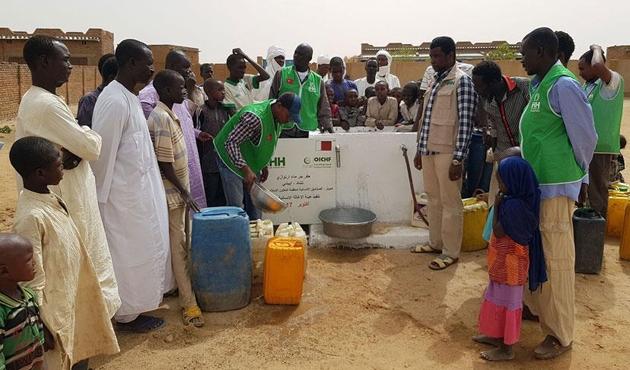 İHH'dan Çad'da bin 332'nci su kuyusu