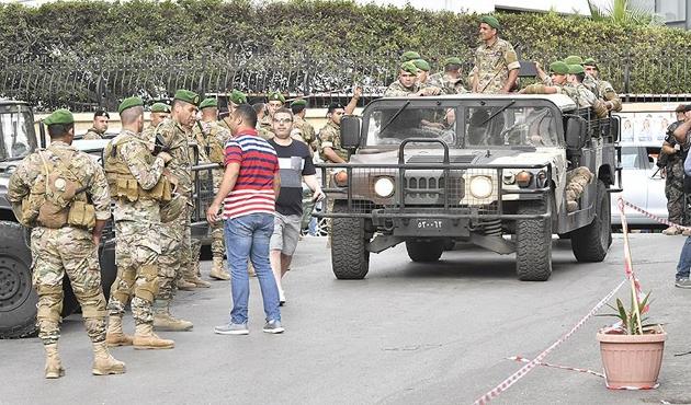 Lübnan'da 9 yıl aradan sonraki seçim ertesinde arbede