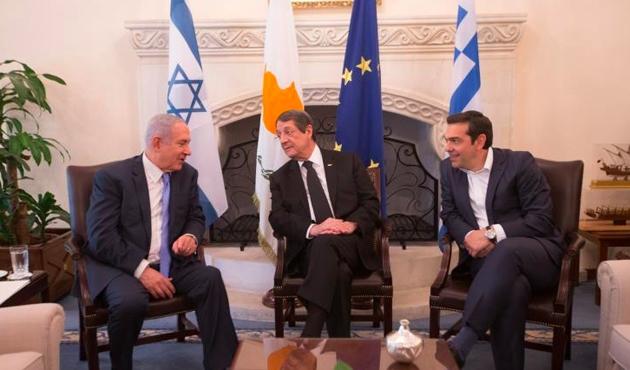 Güney Kıbrıs Rum yönetimi-Yunanistan-İsrail Üçlü Zirvesi