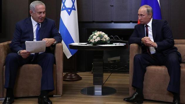 Putin, Netanyahu ile Ortadoğu'yu görüştü