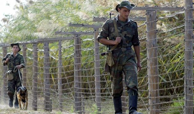Tacikistan sınırında uyuşturucuya karşı tatbikat