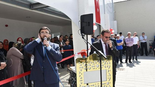 Ayasofya Camii ve Kültür Derneği Külliyesi Danimarka'da açıldı