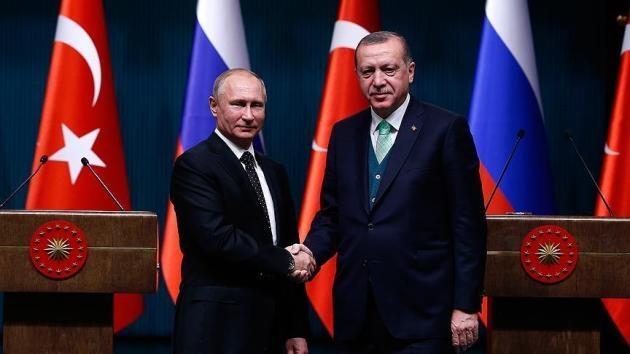 Erdoğan ile Putin telefonda İran ve Suriye'yi görüştü