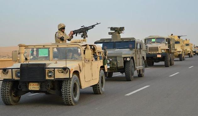 Mısır ordusunun Sina'daki operasyonlarında son durum