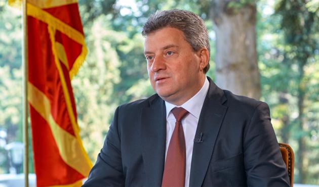 Makedonya Cumhurbaşkanı Ivanov, 'doktor balıklar'ı ziyaret etti