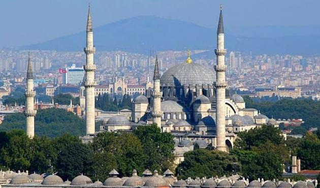 Diyanet İşleri Başkanı, Süleymaniye Camisi'nde hutbe verdi