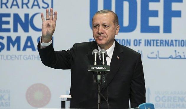 Erdoğan: Misafir öğrencilere çalışma izni verilecek