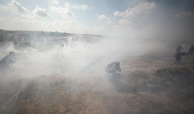 İsrail, Gazze'de 34 sağlık çalışanını az daha boğuyordu