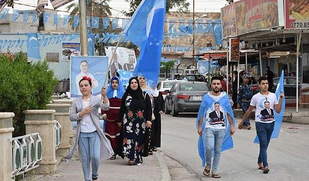 Kerkük'te Türkmenlerden seçime büyük ilgi