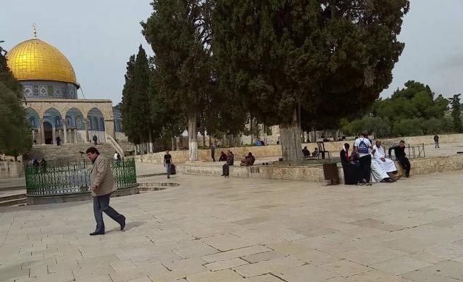 Kudüs'te ABD elçiliği açılışında ezan yasaklama girişimi