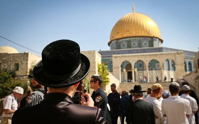 Fanatik Yahudilerden Mescid-i Aksa'ya saygısızlık