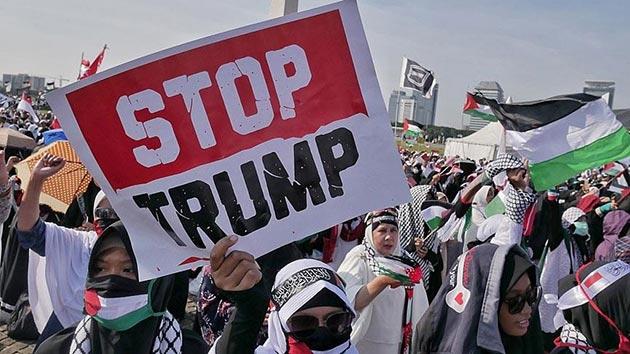 ABD'nin skandal Kudüs kararı 46 ülkede protesto edilecek