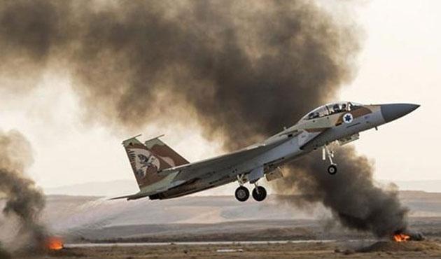 İsrail uçakları Gazze'ye hava saldırısı