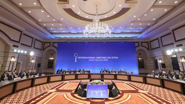 Suriye konulu 9'uncu Astana toplantısı başladı