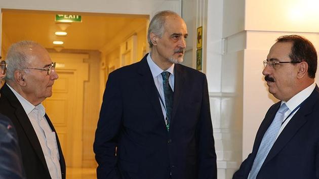 Suriye konulu Astana toplantısında bir ilk