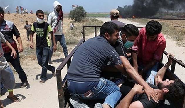 İşgal güçlerinin yaraladığı 54 Filistinli bitkisel hayatta