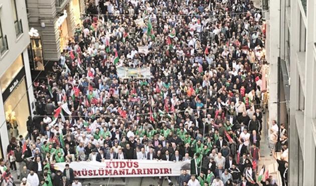 İsrail'in Gazze'deki katliamına Türkiye ve dünyada protestolar
