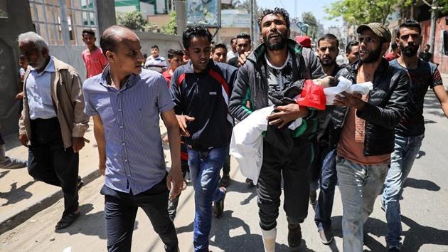 Gazze'deki katliamın en küçük şehidi: 8 aylık Leyla bebek
