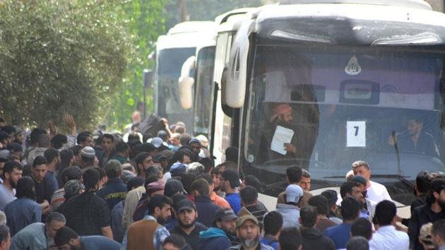 Humus'taki zorunlu tahliyelerde sayı 30 bini aştı