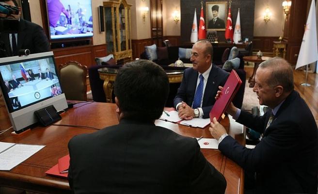 Erdoğan, Venezuela Devlet Başkanı Maduro ile görüştü