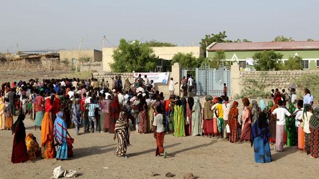 Türk Diyanet Vakfı Ramazan'da Etiyopyalıları unutmadı